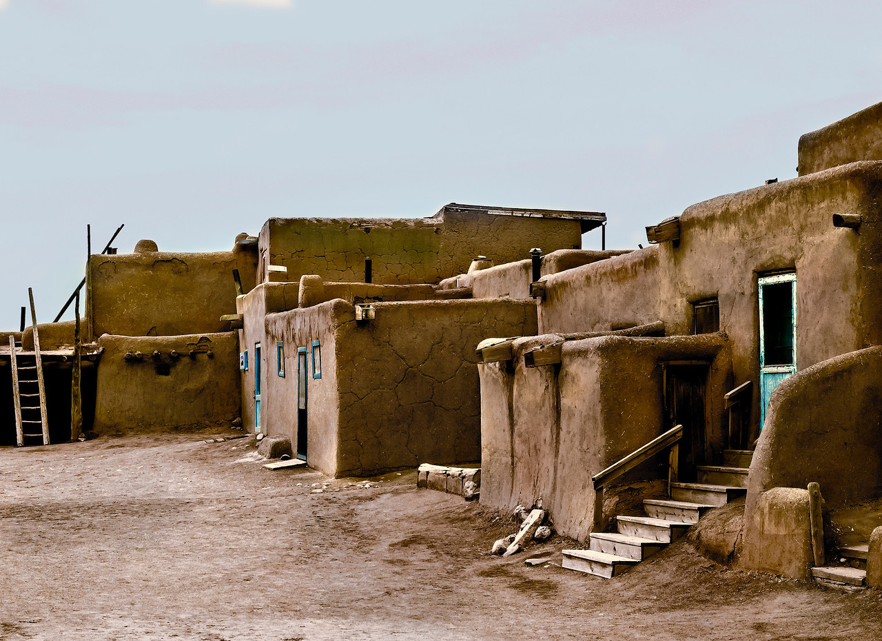 Mud Walls, Taos Pueblo, Taos, NM