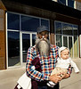 Beard and Baby, Railyard District, Santa Fe, NM